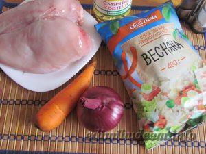 Овощной суп с курятиной: рецепт с фото