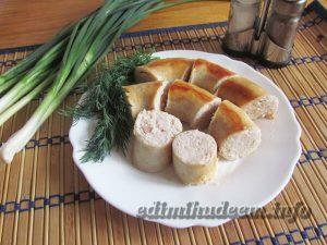 Куриная колбаса: рецепт