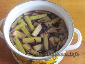 Рецепт напитка из ревеня фото