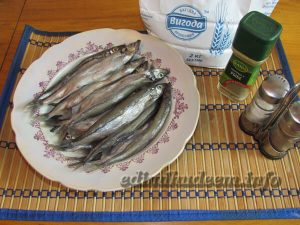 Рецепт мойвы в духовке с фото