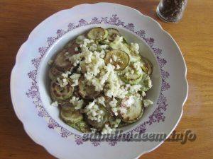 Жареные кабачки с чесноком: рецепт с фото