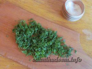 Тосты с творогом и зеленью