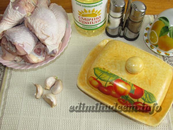 голень куриная рецепты