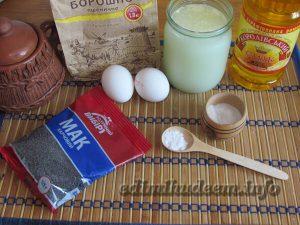 Рецепт блинов с маком