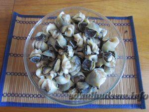 Рапаны: рецепты приготовления