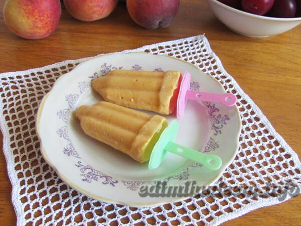 мороженое на палочке рецепт -