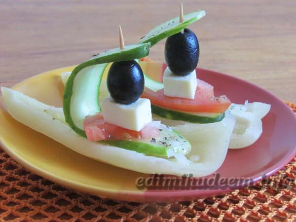 салат греческий для ребенка