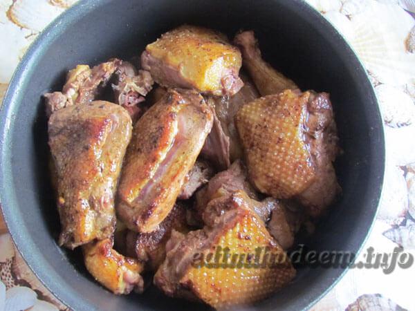 утка в соевом соусе с медом
