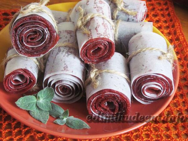 Рецепт сливовой пастилы в домашних условиях