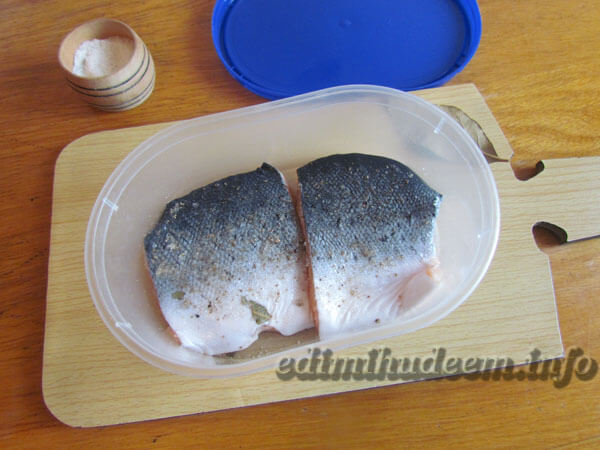Малосольные лосось в домашних условиях