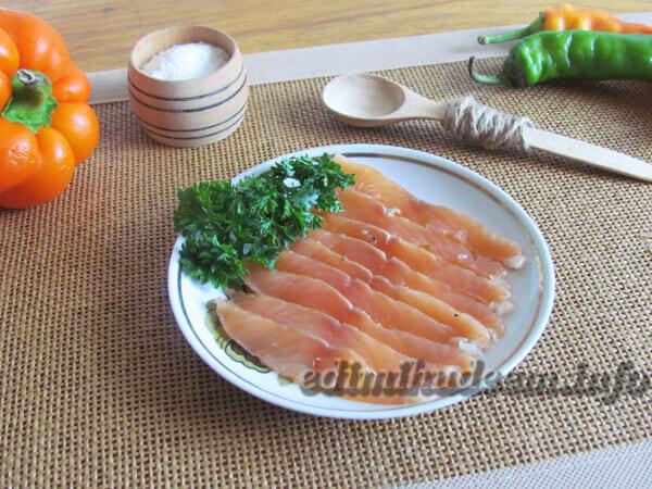 малосольный лосось фото