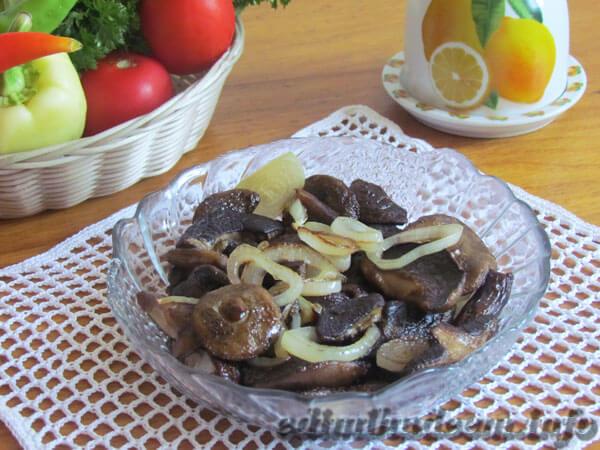польский гриб рецепт