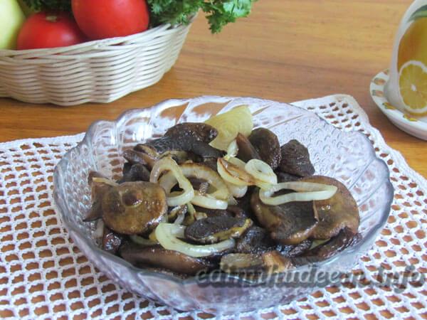 Жареные польские грибы