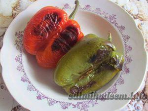 запеченный перец с овощами