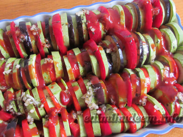 овощной рататуй в духовке