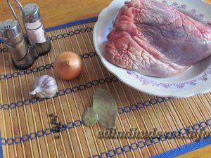 как варить говяжье сердце