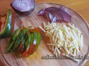 салат кольраби с перцем