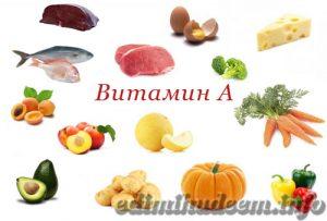 где искать витамин А