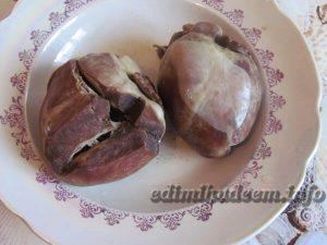 блины с говяжьим сердцем