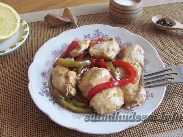 Рецепт курица в крахмале