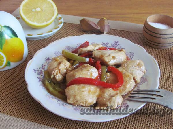 куриное филе по-китайски