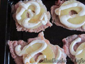 рецепт свинина под ананасом