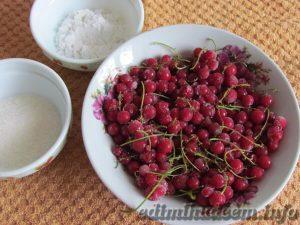 кисель из замороженной красной смородины