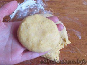 рецепт кукурузного печенья