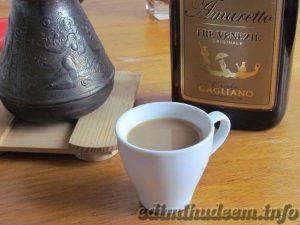 холодный кофе с ликером